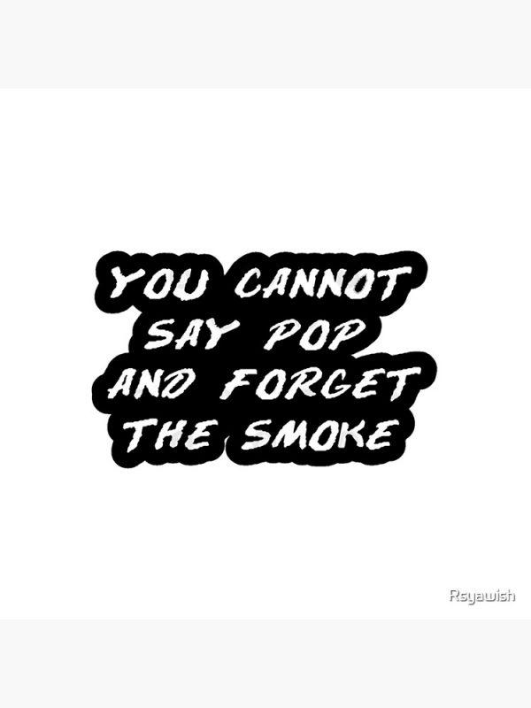 artwork Offical Pop Smoke Merch