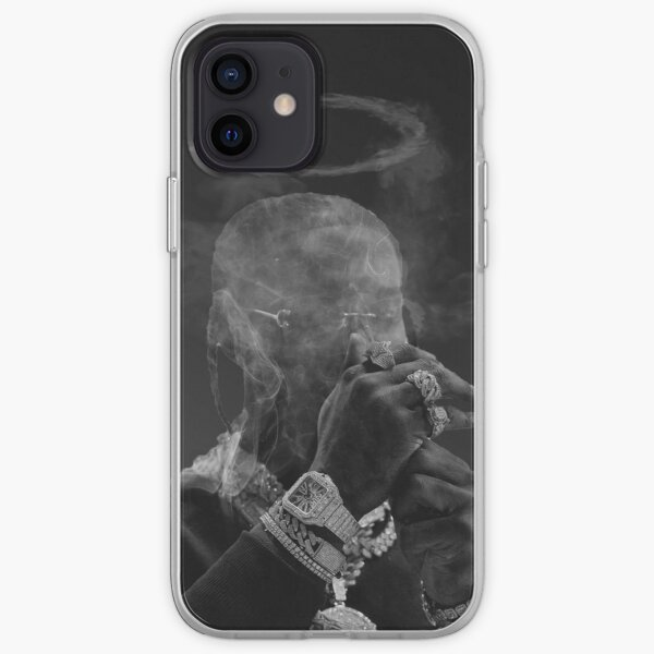 Last Smoking Pop Poster iPhone Soft Case RB2805 product Offical Pop Smoke Merch