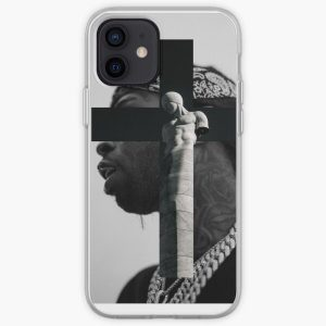 POP SMOKE R.I.P. / THE WOO iPhone Soft Case RB2805 product Offical Pop Smoke Merch