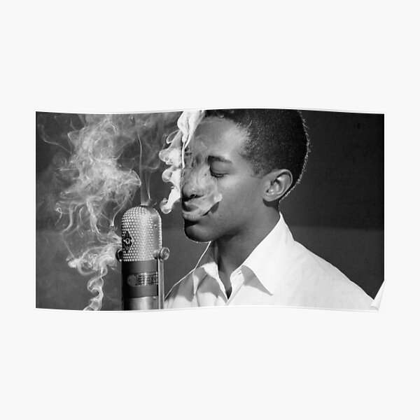 Sam Cooke Smoke Recording Poster RB2805 product Offical Pop Smoke Merch