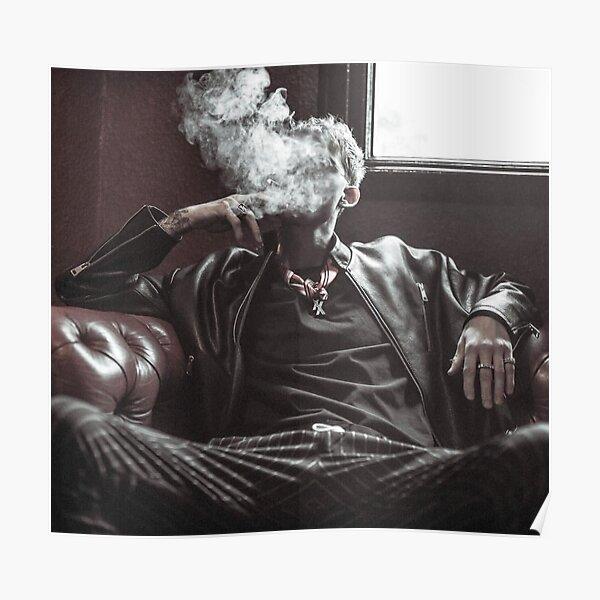 kellys smoke pose Poster RB2805 product Offical Pop Smoke Merch