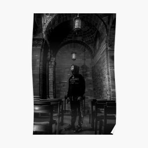 Pray For Pop Bw Poster RB2805 product Offical Pop Smoke Merch