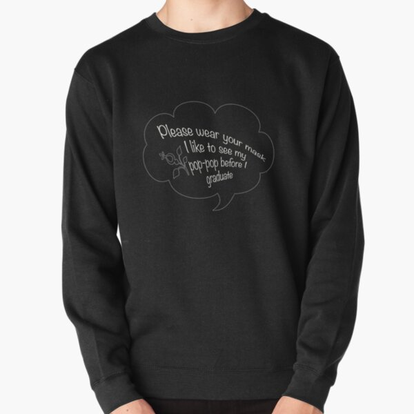 i like to see my pop pop white Pullover Sweatshirt RB2805 product Offical Pop Smoke Merch
