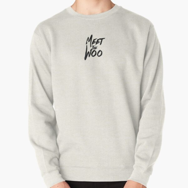 Meet The Woo Font Pullover Sweatshirt RB2805 product Offical Pop Smoke Merch