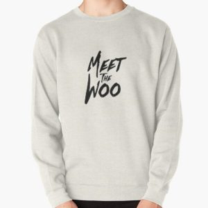 the woo Pullover Sweatshirt RB2805 product Offical Pop Smoke Merch