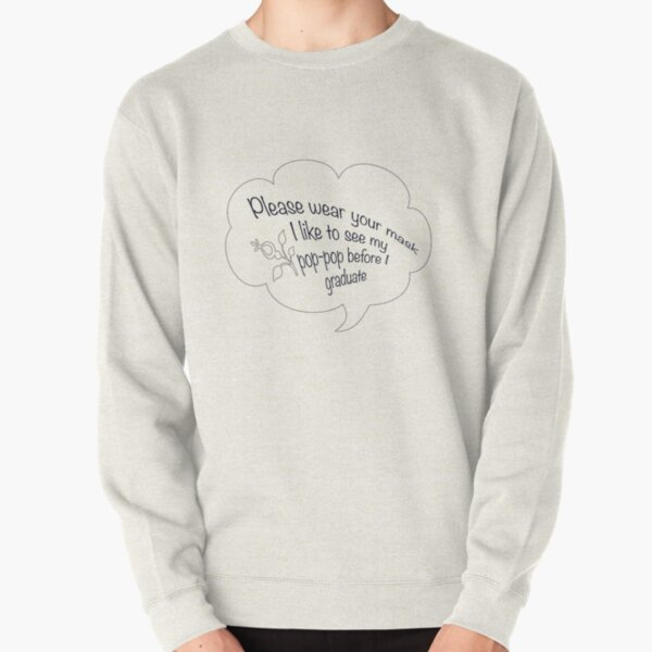 i like to see my pop pop black Pullover Sweatshirt RB2805 product Offical Pop Smoke Merch
