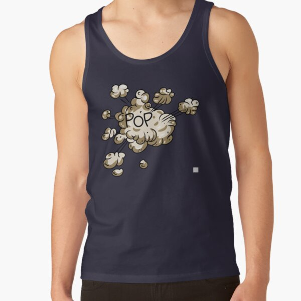 EXPLODED POPPING SMOKE Tank Top RB2805 product Offical Pop Smoke Merch