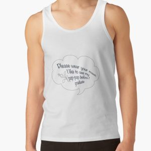 i like to see my pop pop black Tank Top RB2805 product Offical Pop Smoke Merch