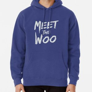 Meet the woo (printed on back) Pullover Hoodie RB2805 product Offical Pop Smoke Merch
