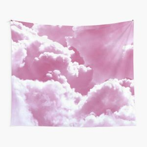 Pale Pastel Sky Blue Pop Smoke Bomb Clouds Tapestry RB2805 product Offical Pop Smoke Merch
