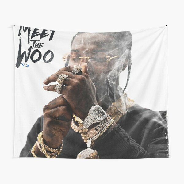 Meet The Woo 2 Tapestry RB2805 product Offical Pop Smoke Merch