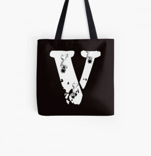 Vlone pop smoke All Over Print Tote Bag RB2805 product Offical Pop Smoke Merch