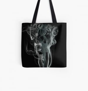 Quiet Smoke Smoke cigars Pop smoke  All Over Print Tote Bag RB2805 product Offical Pop Smoke Merch