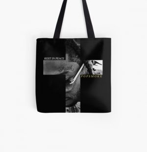 RIP Pop Smoke All Over Print Tote Bag RB2805 product Offical Pop Smoke Merch