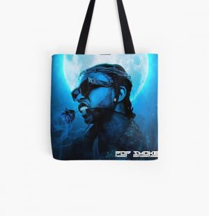 Pop Smoke - RIP All Over Print Tote Bag RB2805 product Offical Pop Smoke Merch