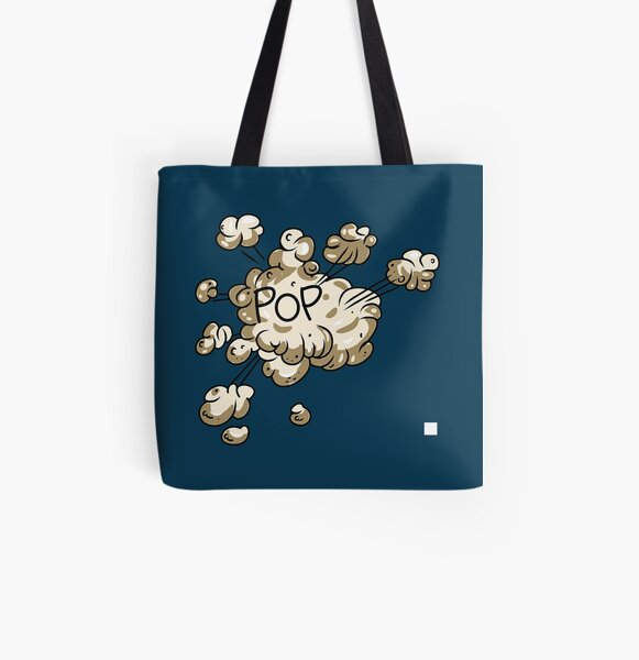 EXPLODED POPPING SMOKE All Over Print Tote Bag RB2805 product Offical Pop Smoke Merch