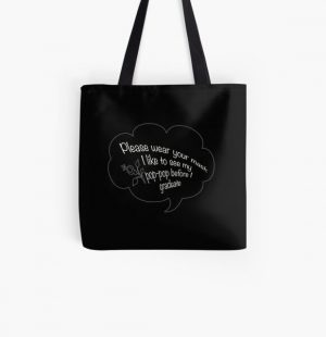 i like to see my pop pop white All Over Print Tote Bag RB2805 product Offical Pop Smoke Merch