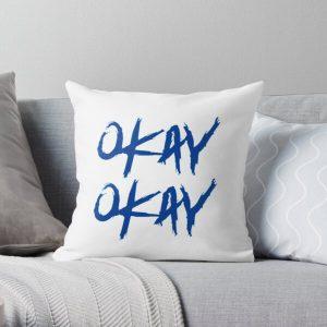 Pop Smoke 'okay okay' hoodie Throw Pillow RB2805 product Offical Pop Smoke Merch