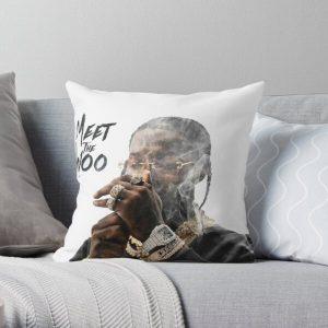 Meet The Woo Pop Smoke Throw Pillow RB2805 product Offical Pop Smoke Merch