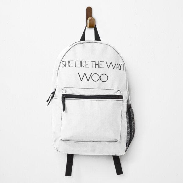 She like the way i WOO Backpack RB2805 product Offical Pop Smoke Merch