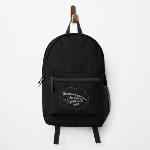 i like to see my pop pop white Backpack RB2805 product Offical Pop Smoke Merch