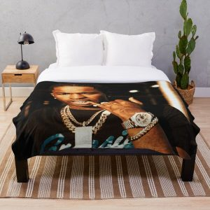 Young Smoke Throw Blanket RB2805 product Offical Pop Smoke Merch