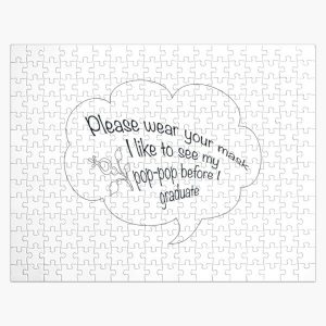 i like to see my pop pop black Jigsaw Puzzle RB2805 product Offical Pop Smoke Merch