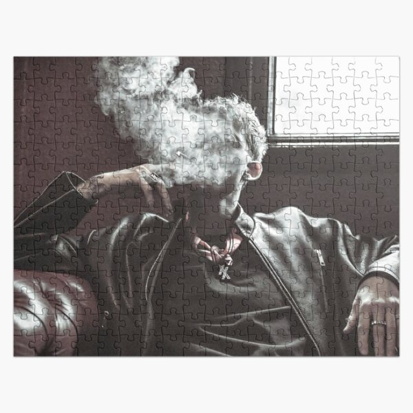 kellys smoke pose Jigsaw Puzzle RB2805 product Offical Pop Smoke Merch