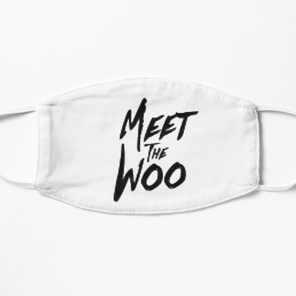 the woo Flat Mask RB2805 product Offical Pop Smoke Merch